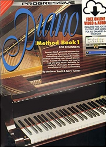 Progressive 1 Piano Method: Book & Cd