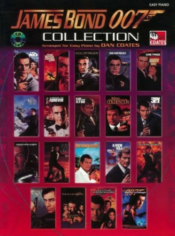 James Bond 007 Collection: Easy Piano: Book & Cd