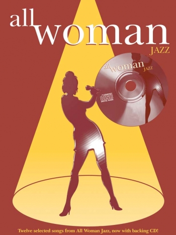 All Woman Jazz: Piano Vocal Guitar: Bk&cd