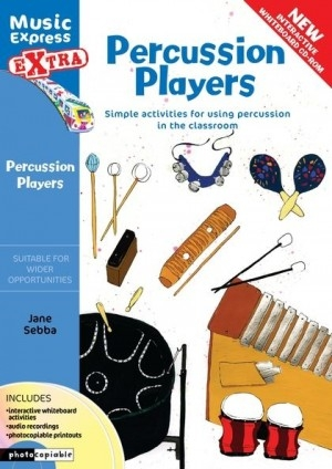 Music Express Extra: Percussion Players: Teachers & CD  (A & C Black)