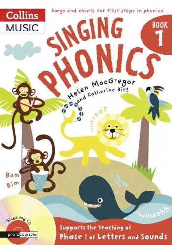 Singing Phonics Bk 1: Vocal: Music Edition Book & CD  (A & C Black)