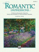 Romantic Impressions: Book 1: Piano