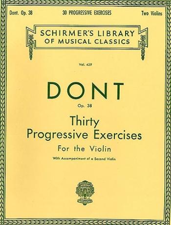30 Progressive Exercises: Violin Solo