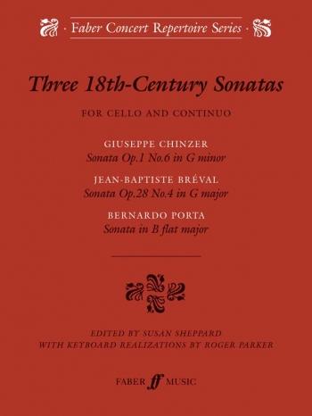 Three 18 th Century Sonatas: Cello & Piano (Faber)