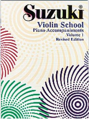 Suzuki Violin School Vol. 1 Violin Piano Accompaniment (Revised)