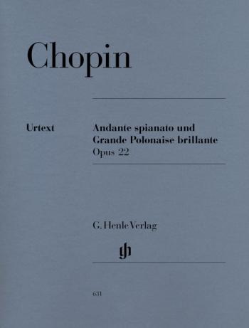 Andante Spianato Und Grand Polonaise Eb Major Op.22: Piano  (Henle Ed)