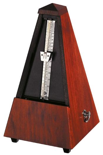 Wittner 811M (Bell) Mahogany Coloured Matt Maelzel Metronome