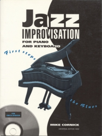 Jazz Improvisation : Piano Or Keyboard: Bk &Cd