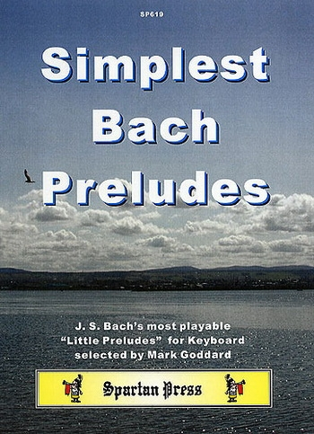 Simplest Bach Preludes: Piano