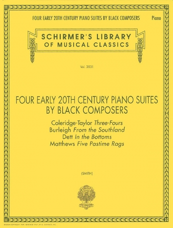 Four Early 20th Century Suites By Black Composers