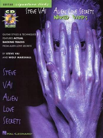 Steve Vai: Alien Love Secret: Naked Vamps: Guitar Tab: Book &CD