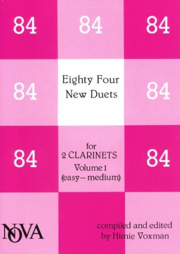 84 New Duets: Clarinet (nova)