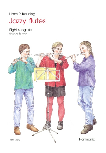 Jazzy Flutes Eight Songs: 3 Flutes