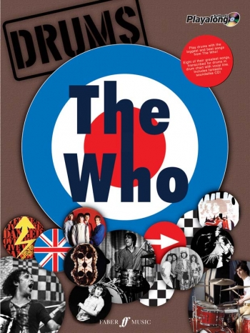 Authentic Playalong: The Who; Drum: Book & CD