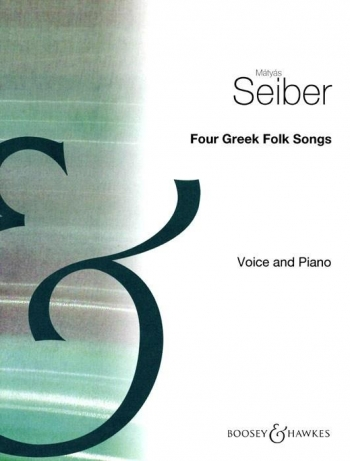 4 Greek Folksongs: Vocal (Archive Copy)