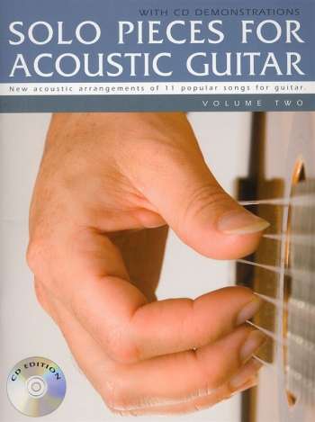 Solo Pieces For Acoustic Guitar: Vol 2: 11 Popular Songs