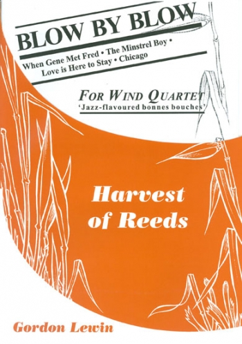 Blow By Blow: Wind Quartet: Score & Parts