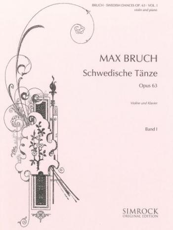Swedish Dances Book1: Op63: Violin And Piano (Simrock)