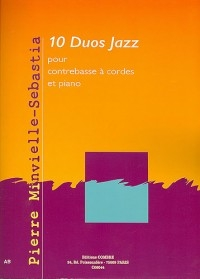 10 Duos Jazz: Double Bass