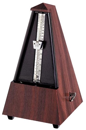 Wittner 845 111 Imitation Mahogany Grain Maelzel Metronome