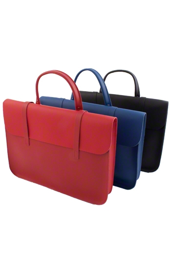 Leather Academy Pattern Music Case - Various Colours