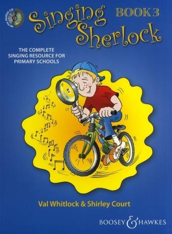 Singing Sherlock 3: Songbook: Book & Cd  (whitlock & Court)