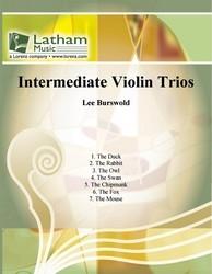 Intermediate Violin Trios: Trio: Violin Trios (Burswold)