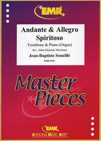 Andante and Allego Spiritoso: Trombone and Piano