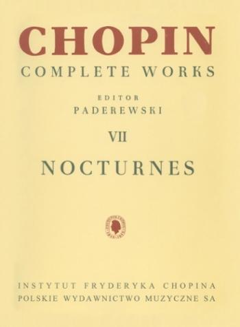 Complete Works Vol 7 Nocturnes: Piano (paderewski)