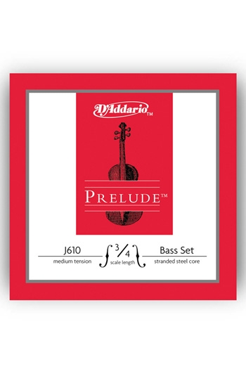 DAddario Prelude Double Bass String Set - Medium Tension (3/4)