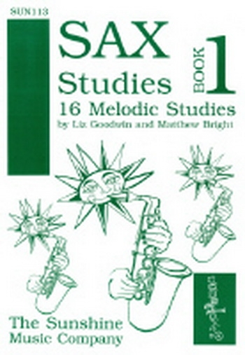 Sax Studies: 1: 16 Melodic Studies: Alto Saxophone (Goodwin and Bright)