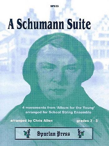 Flexible String Ensemble: Schumann: Suite: String Ensemble: Score and Parts (allen)