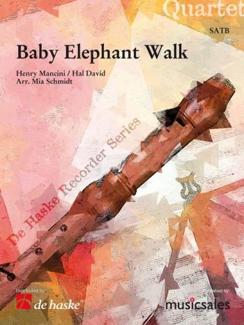 Baby Elephant Walk : Recorder Quartet