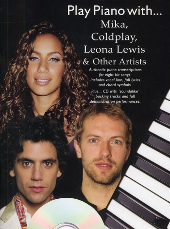 Play Piano With Mika, Coldplay, Leona Lewis & Other Artists - Piano - Bk&cd