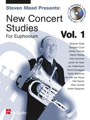 New Concert Studies 1: Euphonium: Treble Clef: Book & Cd