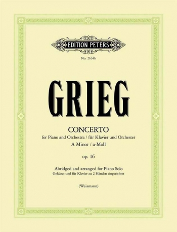 Concerto A Minor Op.16: Abridged: Piano (Peters)