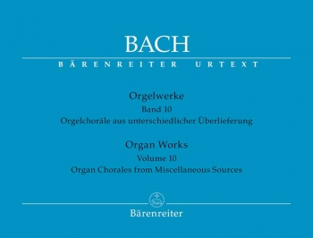 Organ Chorales From Miscellaneous Sources Organ   (Barenreiter)
