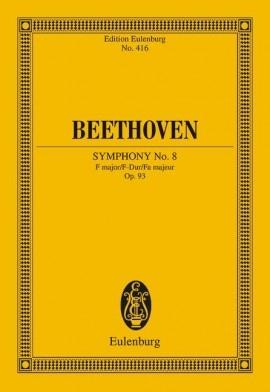 Symphony No.8 : F Major: Miniature Score