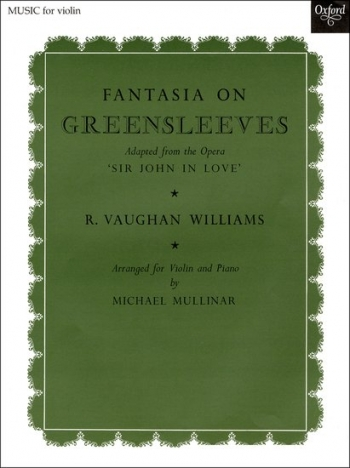 Fantasia On Greensleeves: Violin and Piano