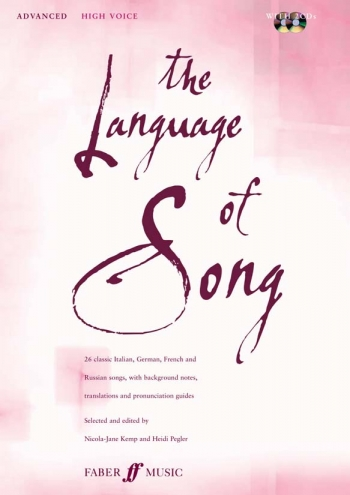Language Of Song: Advanced: High Voice: Book and 2cd