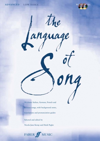 Language Of Song: Advanced: Low Voice: Book and 2cd