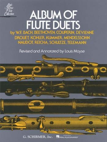 Album Of Flute Duets: 2 Flutes (Arr Moyse)