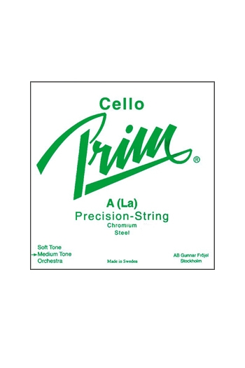 Prim Cello String Set Chrome Steel  Medium
