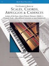 Complete Book Of Scales Chords Arpeggios And Cadences