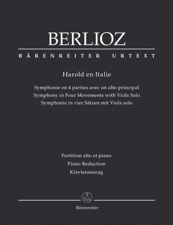 Harold In Italy: Viola and Piano  (Barenreiter)