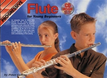 Progressive Flute For Young Beginners Book & CD (Gelling)
