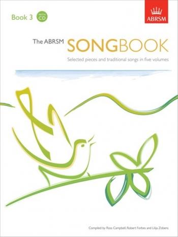 ABRSM Songbook Book 3: Vocal Exam: Book & CD