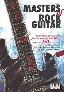Masters Of Rock Guitar: Guitar Tab (fischer)