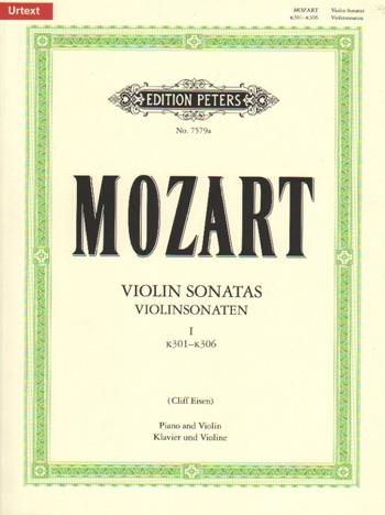 Sonatas: Complete: Vol 1: Violin and Piano (Peters)