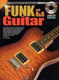 Progressive Funk And R And B Guitar Method: Book & CD